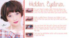 hiidden eyeliner