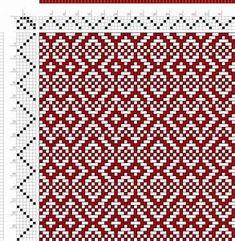 649 best 4 shaft weaving drafts images on Pinterest ...