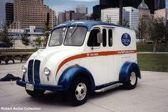 Antique Milk Truck by Henry