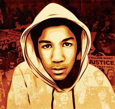 trayvon martin 2012 print