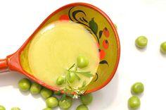 VegeGuláš: Hráškovo-zemiakový krém