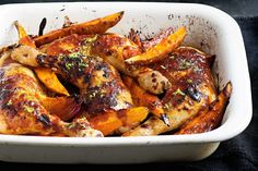 Sticky Hawaiian chicken - A sweet and sticky chicken dish that the whole family will relish.