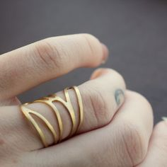 $37 gold wrap ring