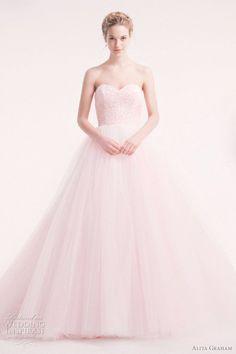 pink wedding dresses | Alita Graham Wedding Dresses 2012 | Wedding Inspirasi