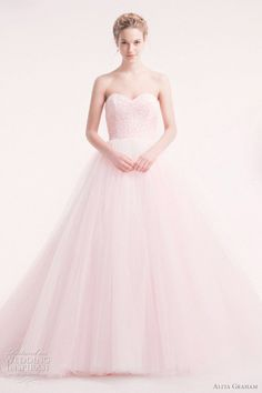 pink wedding dresses | Alita Graham Wedding Dresses 2012 | Wedding Inspirasi