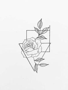 Design tattoo mini is part of Girl tattoos Ideas Shoulder - Girl tattoos Ideas Shoulder Tattoo Design Drawings, Outline Drawings, Cool Art Drawings, Pencil Art Drawings, Art Drawings Sketches, Easy Drawings, Tattoo Designs, Tattoo Outline Drawing, Drawing Tattoos