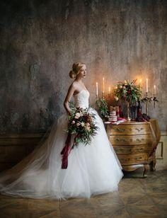 Romantic, Candlelit Wedding Inspiration | Green Wedding Shoes Wedding Blog | Wedding Trends for Stylish + Creative Brides