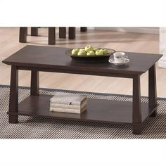 Lowest price online on all  Havana Coffee Table in Dark Brown - RT157A-OCC