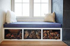 Window seat in modern design farmhouse by trinettereed | Stocksy United