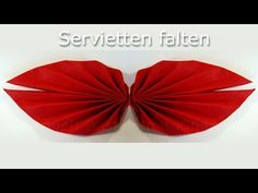 Servietten falten: Ahornblatt napkin folding maple leaf - YouTube