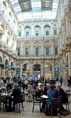 The Old Royal Stock Exchange, Cornhill, London, England. Between St Paul's and ToL - bar in lobby. Sightseeing London, London Travel, Oh The Places You'll Go, Places To Travel, Places To Visit, London City, London Pubs, London Stock Exchange, Voyage Europe