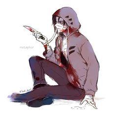 Angel of Slaughter 殺戮の天使 (Massacre Angel) (Satsuriku no Tenshi) 君が笑うまで #Anime #Manga #Game Fanart Zack (Isaac)