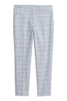 Нарядные брюки - Голубой -   H&M RU 2