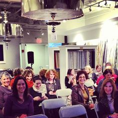 A glimpse of some of the lovely people @Robert Allen Design #Boston @DwellStudio event.
