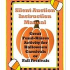 Silent auctions are a great way for schools to fund raise, especially if they are done in conduction with a school event like a Halloween Carnival ...