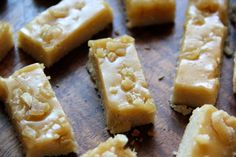 Ginger Shortbread Cookies - I adore shortbread, and ginger too, so this should be a keeper!