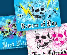 Printable BFF locker stickers--#ilovesnapfish