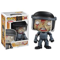 Top 99 Gift Ideas for The Walking Dead Fans | Gifts For Gamers & Geeks - Zombie Prison Guard Funko Pop!