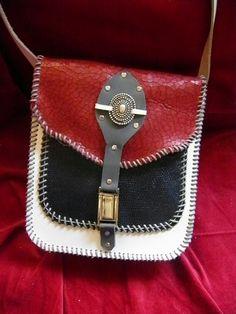El yapimi deri canta leather bag