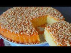 بسبوسة رائعة بنكهة الحامض🍋🍋 هشيشة ورطبة ولذيذة 👌👍👍🏵مطبخ زيزيتا🏵 - YouTube Arabic Sweets, Bagel, Doughnut, Biscuits, Deserts, Dessert Recipes, Bread, Dining, Cooking