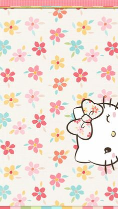 #hello kitty #spring #wallpaper #iphone