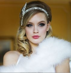 Image result for great gatsby hairstyles for prom