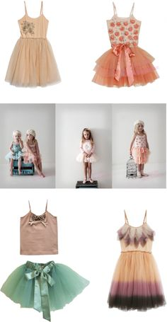 I know these dresses are meant for little girls, but I'd totally wear some of these.