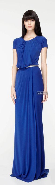vestido longo de festa azul piscina blue shop