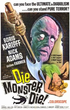 I was way more bored with this than should be possible in even a late-period Boris Karloff vehicle.  1.5/5