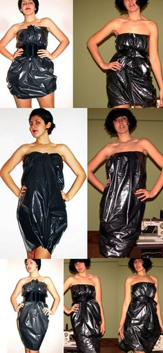 How to Dress Up a Wastebasket