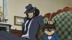 Jigen and Conan - Modern All Anime, Anime Love, Studio Ghibli, Heiji Hattori, Lupin The Third, Good Anime Series, Gosho Aoyama, Kaito Kid, Detective Conan Wallpapers