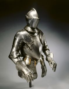 Half-Suit of Armor for the Field, c. 1575 North Italy, Brescia (?), 16th century