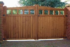 automatic wooden gates wooden gates can be constructed entirly from