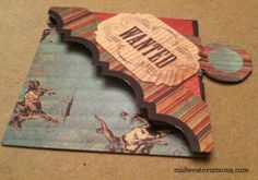 A more detailed tutorial on how to make corner bookmarks - shows how to make a template