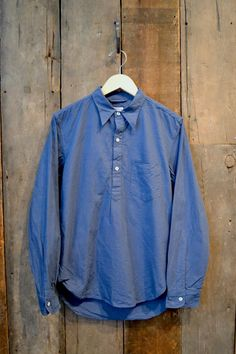 independence . arpenteur - grand-pere shirt : navy cotton pique