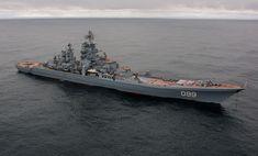 Pyotr Velikiy (Peter the Great) Kirov-class battlecruiser