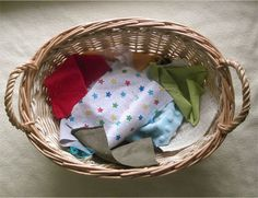 Fabric Discovery Basket