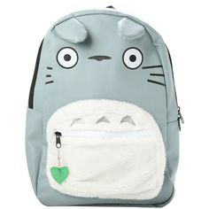 Studio Ghibli My Neighbor Totoro Character Backpack Hot Topic (€14) ❤ liked on Polyvore featuring bags