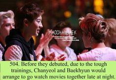 Baekyeol facts