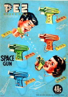 PEZ Space Gun