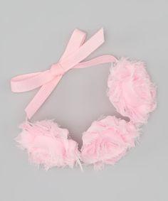Ballet Bun Wrap Mini Shabby Flowers on by LilMissSweetPea on Etsy, $8.99