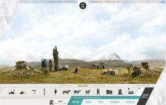 Nice navigation / Webdesign #navigation #concept