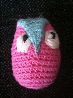 Made this owl inspired by pictures on the web.