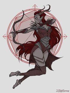 Sagittarius witch