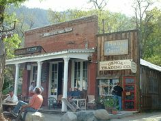 The Genoa Saloon, Genoa, NV.  The oldest thirst parlor in Nevada.