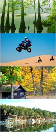 From beautiful rivers and incredibly fun sand dunes, Oklahoma's state parks have it all. Each park has unique amenities including quaint cabins and marinas that turn a vacation into an adventure.