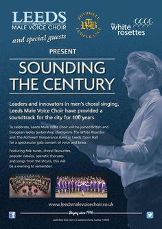 A little more on our centenary concert! #SoundingTheCentury