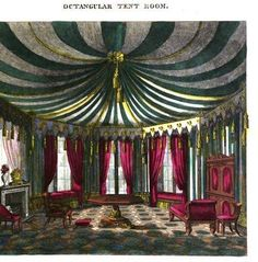 tent dome room