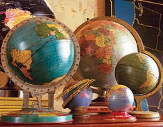 I remember one Christmas, all I wanted was a globe. I think it was Fifth grade. We had guests from around the world, come teach us about there country and culture. It was really  aneat social studies program that went all yeat. Had a guest come once a week, each month we learned about a different country. Loved school!