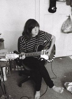 Courtney Barnett- have been obsessed. also saw her at coachella and became more obsessed and bought tickets to see her again in july.
